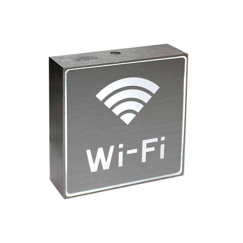 Signaled Wifi, 10x10, Blanco frío